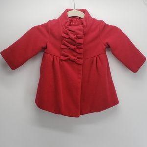 Baby Gap   Pea Coat   Red